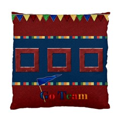 Games We Play Football 2 Sided Pillow By Lisa Minor   Standard Cushion Case (two Sides)   52puax95qn0k   Www Artscow Com Back