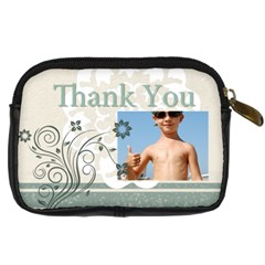 Thank You Bag By Joely   Digital Camera Leather Case   Aowp48j2wmrc   Www Artscow Com Back