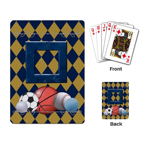 Games We Play Playing Cards 1 By Lisa Minor   Playing Cards Single Design   El4nrshzaoer   Www Artscow Com Back