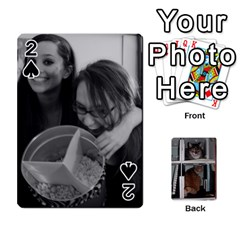 Rachelcards By Taylor Caputo   Playing Cards 54 Designs (rectangle)   H88q8ut4rkcw   Www Artscow Com Front - Spade2
