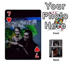 Rachelcards By Taylor Caputo   Playing Cards 54 Designs   H88q8ut4rkcw   Www Artscow Com Front - Heart7