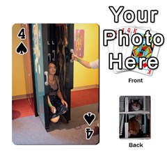Rachelcards By Taylor Caputo   Playing Cards 54 Designs   H88q8ut4rkcw   Www Artscow Com Front - Spade4
