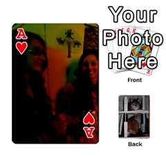 Ace Rachelcards By Taylor Caputo   Playing Cards 54 Designs   H88q8ut4rkcw   Www Artscow Com Front - HeartA