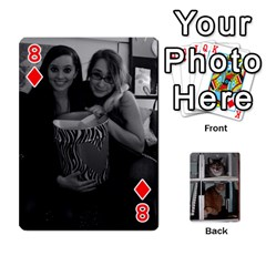 Rachelcards By Taylor Caputo   Playing Cards 54 Designs (rectangle)   H88q8ut4rkcw   Www Artscow Com Front - Diamond8