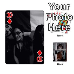 Rachelcards By Taylor Caputo   Playing Cards 54 Designs   H88q8ut4rkcw   Www Artscow Com Front - Diamond10