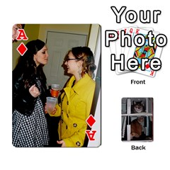 Ace Rachelcards By Taylor Caputo   Playing Cards 54 Designs   H88q8ut4rkcw   Www Artscow Com Front - DiamondA