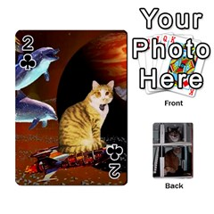 Rachelcards By Taylor Caputo   Playing Cards 54 Designs   H88q8ut4rkcw   Www Artscow Com Front - Club2