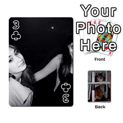 Rachelcards By Taylor Caputo   Playing Cards 54 Designs   H88q8ut4rkcw   Www Artscow Com Front - Club3