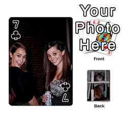 Rachelcards By Taylor Caputo   Playing Cards 54 Designs   H88q8ut4rkcw   Www Artscow Com Front - Club7