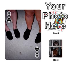 Rachelcards By Taylor Caputo   Playing Cards 54 Designs   H88q8ut4rkcw   Www Artscow Com Front - Club8