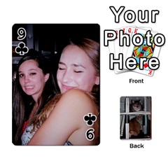 Rachelcards By Taylor Caputo   Playing Cards 54 Designs   H88q8ut4rkcw   Www Artscow Com Front - Club9