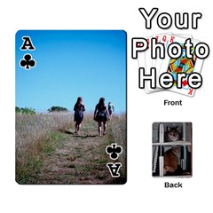 Ace Rachelcards By Taylor Caputo   Playing Cards 54 Designs   H88q8ut4rkcw   Www Artscow Com Front - ClubA