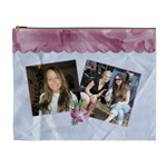 The Friends We Meet ... XL Cosmetic Bag - Cosmetic Bag (XL)