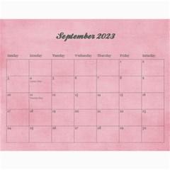 Pinky Green 2015 Calendar By Mikki   Wall Calendar 11  X 8 5  (18 Months)   Sxom74hcx8nr   Www Artscow Com Sep 2018