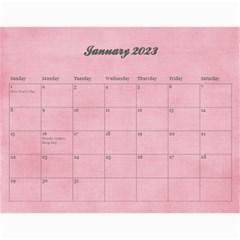 Pinky Green 2015 Calendar By Mikki   Wall Calendar 11  X 8 5  (18 Months)   Sxom74hcx8nr   Www Artscow Com Jan 2015
