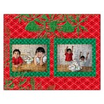 red & green xmas puzzle - Jigsaw Puzzle (Rectangular)