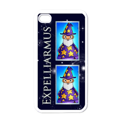 Wizard Words White I Phone Case By Catvinnat   Apple Iphone 4 Case (white)   5ky8zoas3m2f   Www Artscow Com Front