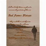 Bud Watson Graduation Announcement - 5  x 7  Photo Cards