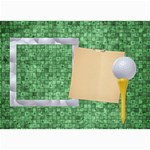 Games We Play GOLF card - 5  x 7  Photo Cards
