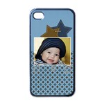 Apple iPhone 4 Case (Black)- For Boys
