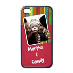 Martha and family - i-PHONE case - Apple iPhone 4 Case (Black)