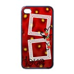 Strawberry love - i-PHONE case - Apple iPhone 4 Case (Black)