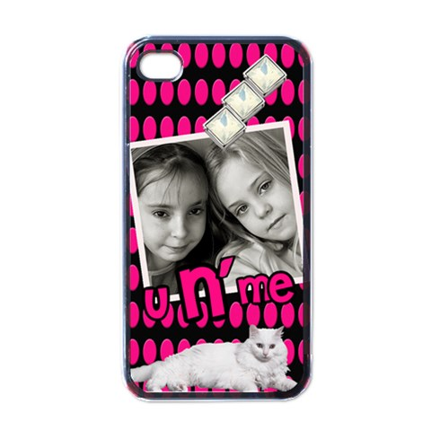 You And Me   I Phone Case By Carmensita   Apple Iphone 4 Case (black)   H6183fdrmnqw   Www Artscow Com Front