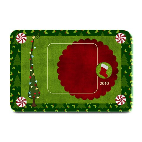 Christmas Jingle Placemat By Bitsoscrap   Plate Mat   Wgj0j7uy34x5   Www Artscow Com 18 x12  Plate Mat