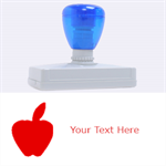 Apple - Rubber Address Stamp (XL)