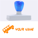 Bus - Rubber Address Stamp (XL)