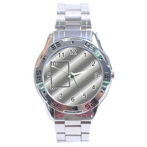 Aluminium Stainless Steel Watch By Daniela   Stainless Steel Analogue Watch   Adybkxq6h1f8   Www Artscow Com Front