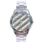 Aluminium stainless steel watch - Stainless Steel Analogue Men's Watch