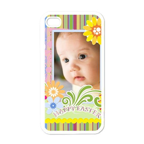 Merry Christmas By Joely   Apple Iphone 4 Case (white)   Epj6rdaisizs   Www Artscow Com Front