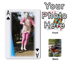 Ace Trimble B 2010 Playing Cards By Margy Trimble   Playing Cards 54 Designs   Gl8zdib1fiiy   Www Artscow Com Front - ClubA