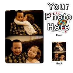 Ryan & Layla Memory Cards By Laura Hickman   Playing Cards 54 Designs (rectangle)   Fa27gjavlkm8   Www Artscow Com Front - Joker2
