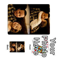 Ryan & Layla Memory Cards By Laura Hickman   Playing Cards 54 Designs   Fa27gjavlkm8   Www Artscow Com Back