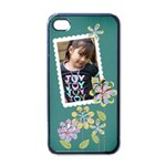 Apple iPhone 4 Case (Black) - Cherished