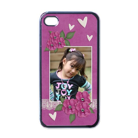 Apple Iphone 4 Case (black)    I Love You By Jennyl   Iphone 4 Case (black)   Ihpe7t4pkgce   Www Artscow Com Front
