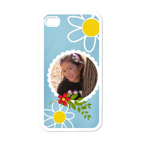 Apple Iphone 4 Case (white)   Fun Summer By Jennyl   Iphone 4 Case (white)   0b1eqkfq85hg   Www Artscow Com Front