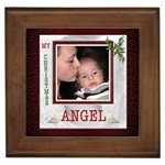 My Christmas Angel Framed Tile