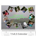 costa rica 2010 - Wall Calendar 11  x 8.5  (12-Months)