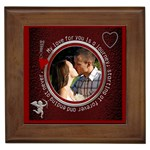 My Love For You Framed Tile