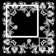 Art Nouveau Classic Black & White Quickpages  12 X 12  By Catvinnat   Scrapbook Page 12  X 12    5bbex2xofk8i   Www Artscow Com 12 x12 Scrapbook Page - 4