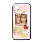 mothers day - Apple iPhone 4 Case (Black)