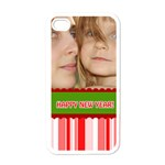 happy new year - Apple iPhone 4 Case (White)