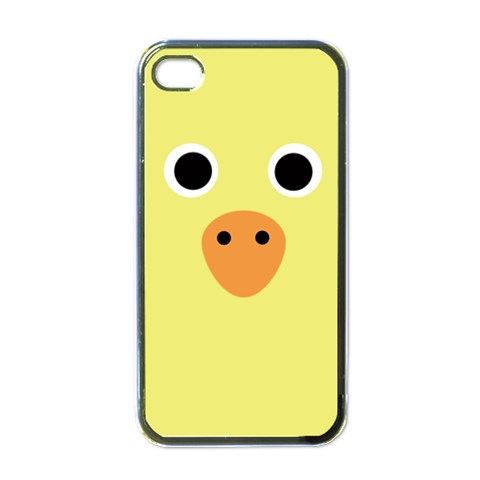 Duck By Wood Johnson   Apple Iphone 4 Case (black)   0il2ct2ua57f   Www Artscow Com Front