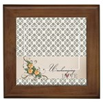 Framed Tile- Unchanging Love