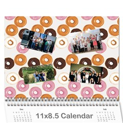 Mom And Dad s Calendar By Shelly Johnson   Wall Calendar 11  X 8 5  (12 Months)   Pxa2k9efatqg   Www Artscow Com Cover