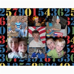 Mom And Dad s Calendar By Shelly Johnson   Wall Calendar 11  X 8 5  (12 Months)   Pxa2k9efatqg   Www Artscow Com Month