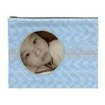 Lacey Blue Custom Cosmetic Bag XL - Cosmetic Bag (XL)
